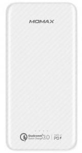 Портативное зарядное устройство Momax iPower Minimal PD 10000mAh White (IP65W)