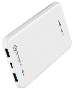 фото Портативное зарядное устройство Momax iPower Minimal PD 10000mAh White (IP65W) #4