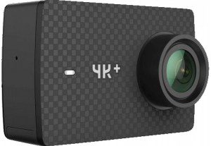Экшн-камера Xiaomi Yi 4K Plus Black International Edition + Waterproof box (YI-91107)