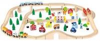 Игрушка Viga Toys 'Железная дорога', 90 деталей (50998)