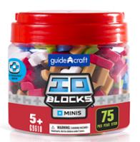 Конструктор Guidecraft IO Blocks Minis, 75 деталей (G9610)