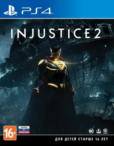 игра Injustice 2 PS4 - Русская версия