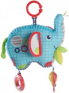М'яка іграшка-підвіска Fisher-Price 'Слоненя' (FDC58)