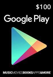 Google Play Gift $100