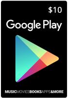 Google Play Gift $10
