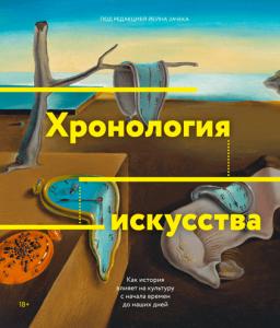 Книга Хронология искусства. Как история влияет на культуру с начала времен до наших дней