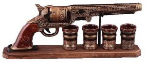 Подарок Подарочный набор для алкогольных напитков 'Кольт' (161-17119391)
