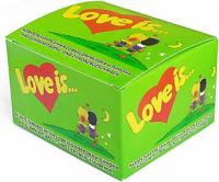 Подарок Жевательная резинка Love is.. 'Яблоко-лимон' 20 шт.