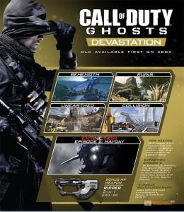 Игра Ключ для Call of Duty Ghosts Devastation (DLC) - UA