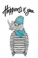 Книга Блокнот 'Happiness is you'
