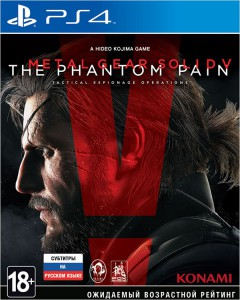 игра Metal Gear Solid 5 The Phantom Pain PS4 - Русская версия