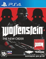 игра Wolfenstein The New Order PS4 - Русская версия