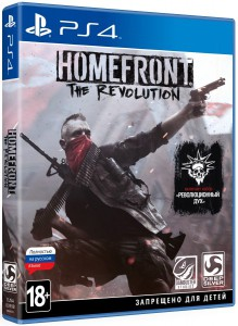 игра Homefront: The Revolution PS4 - Русская версия