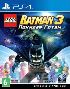 игра Lego Batman 3: Beyond Gotham PS4 - LEGO Batman 3: Покидая Готэм - Русская версия