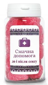 Подарок Мармелад жувальний Смачна допомога 'До та після сексу' 150 мл.