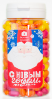 Подарок Конфеты Вкусная помощь 'С Новым Годом Дед Мороз' 150 мл.