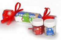 Подарок Подарочный набор конфет 'С Новым годом', 2 банки по 50 мл