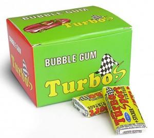 Подарок Жевательная резинка Turbo, 20 шт