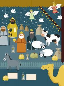 фото страниц Что скрывает Рождество? Новогодний виммельбух #3