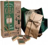 Подарок Кофейный набор Shokopack с шоколадом 'Вітаю'