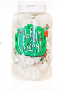 Подарок Конфеты Вкусная помощь 'С Новым Годом!', 150 мл