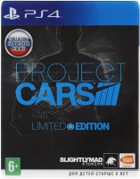 игра Project CARS Limited Edition PS4 - Русская версия