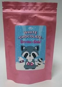Подарок Білий шоколад Candy's 'White chocolate. Веселих свят'