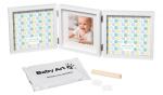 Подарок Рамочка Baby Art 'Тройная с отпечатками' (3601095600)