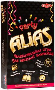 Настольная игра Tactic 'Party Alias', Пати Алиас - дорожная версия (2857)