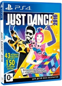 игра Just Dance 2016 Unlimited PS4 - Русская версия