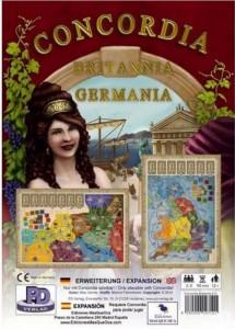 Настольная игра Crowd Games 'Конкордия: Британия и Германия (Concordia: Britannia & Germania) (09710)