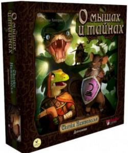 Настольная игра Crowd Games 'О мышах и тайнах :Сказки Нижнелесья (44023)