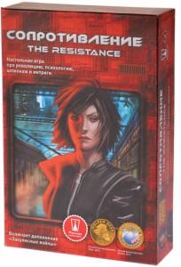 Настольная игра Magellan 'Сопротивление' (2-е изд.) (The Resistance) (MAG112881)