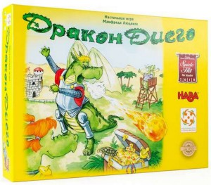 Настольная игра Стиль жизни 'Дракон Диего (Diego Drachenzahn)' (LS58)