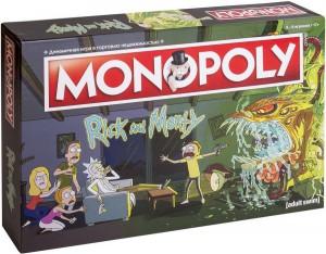 Настольная игра Hobby World 'Монополия. Рик и Морти' (503386)