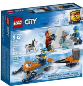 Конструктор Lego 'Арктика: команда дослідників' (60191)