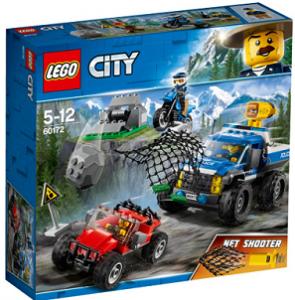 Конструктор Lego 'Погоня на грунтовій дорозі' (60172)
