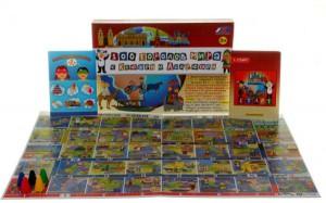 фото Настольная игра Интерхит '100 стран мира с Ксюшей и Андрюшей' (77001) #3