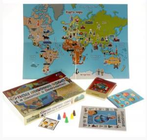 фото Настольная игра Интерхит '100 стран мира с Ксюшей и Андрюшей' (77001) #4