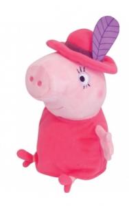 Мягкая игрушка Peppa Мама Свинка в шляпе (29625)