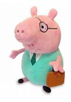 Мягкая игрушка Peppa Папа Свин с портфелем (30292)