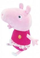 Мягкая игрушка Peppa Пеппа балерина с озвучкой (30118)