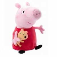Мягкая игрушка Peppa Пеппа с игрушкой  (31157)