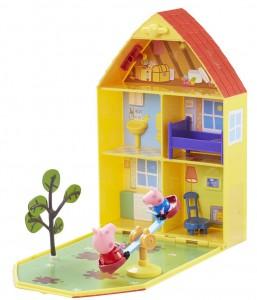 Игровой набор Peppa Дом Пеппы с лужайкой (06156)