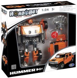 фото Робот-трансформер Roadbot Hummer H2 SUT #4
