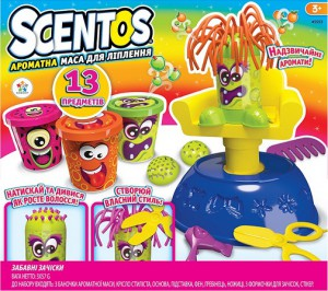 Набор для лепки Scentos 'Забавные прически' (45553)