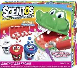 Набор для лепки Scentos 'Дантист для Крокки' (45671)