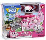 Игровой набор Robocar Poli 'Гараж с мини трансформером Ембер' (83363)