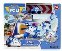 Игровой набор Robocar Poli 'Гараж с мини трансформером Поли' (83362)