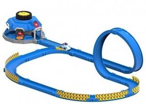 Игровой набор Robocar Poli 'Трек с пусковым механизмом и мини машинки Поли и Марк' (83381)